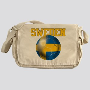 Sweden Football Messenger Bag