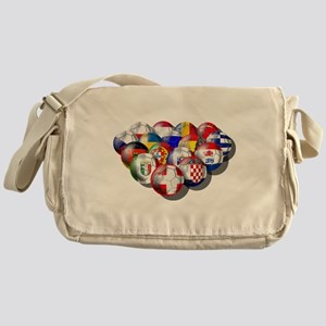 European Soccer Football Messenger Bag
