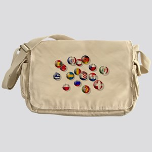 European Football Messenger Bag