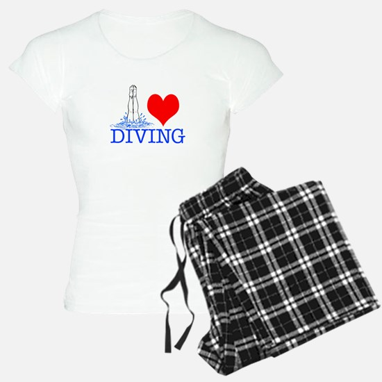 Love (heart) Diving Pajamas