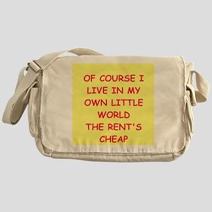 psychology Messenger Bag