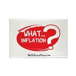 What Inflation Rectangle Magnet (10 pack)