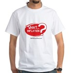 What Inflation White T-Shirt