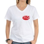 What Inflation Women's V-Neck T-Shirt