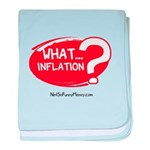 What Inflation baby blanket