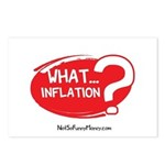 What Inflation Postcards (Package of 8)