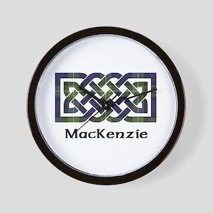 Knot-MacKenzie htg grn Wall Clock