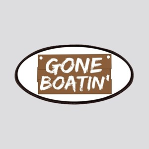 Gone Boatin' (Boating) Patches