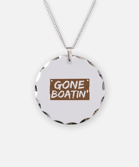 Gone Boatin' (Boating) Necklace