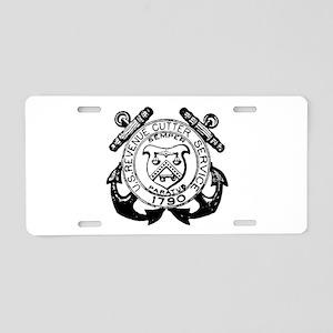 Revenue Cutter Service Aluminum License Plate