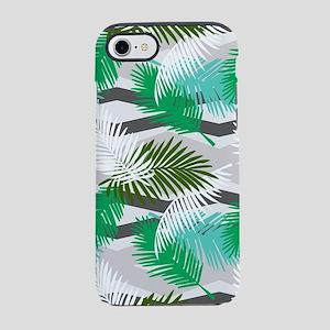 Tropical Jungle Pattern iPhone 7 Tough Case