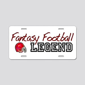 Fantasy Football Legend Aluminum License Plate