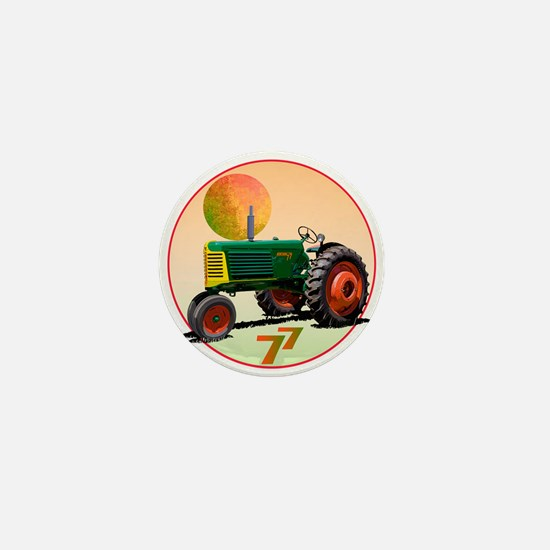 Cool Oliver tractor Mini Button