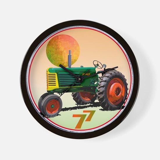 Oliver tractors Wall Clock