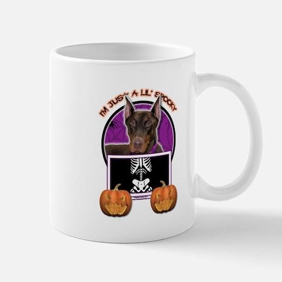 Just a Lil Spooky Dobie Mug