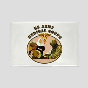 Army - Medical Corps - Medic Rectangle Magnet
