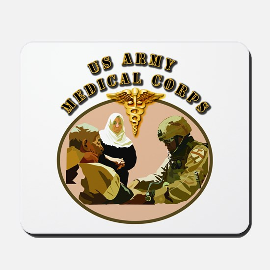 Army - Medical Corps - Medic Mousepad