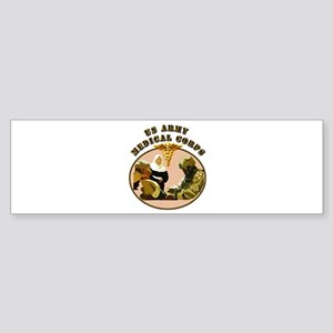 Army - Medical Corps - Medic Sticker (Bumper)