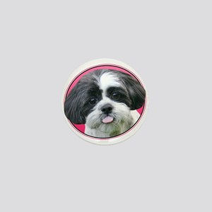 Funny Shih Tzu Mini Button
