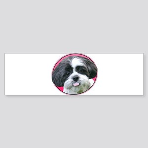 Funny Shih Tzu Sticker (Bumper)