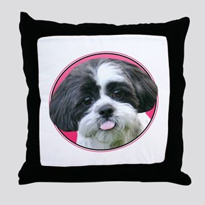 Funny Shih Tzu Throw Pillow