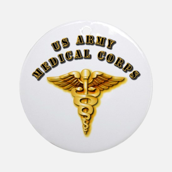Army - Medical Corps Ornament (Round)