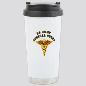 Army - Medical Corps Stainless Steel Travel Mug