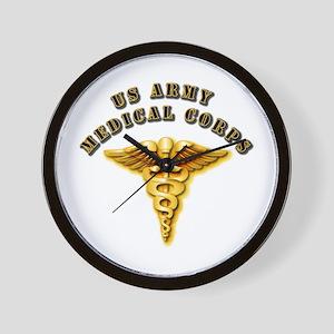 Army - Medical Corps Wall Clock