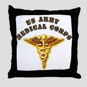 Army - Medical Corps Throw Pillow