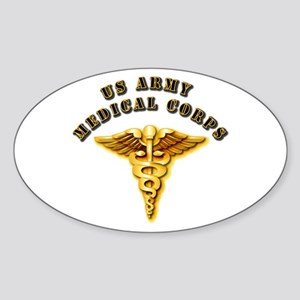 Army - Medical Corps Sticker (Oval)