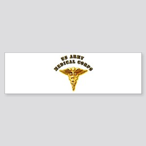Army - Medical Corps Sticker (Bumper)