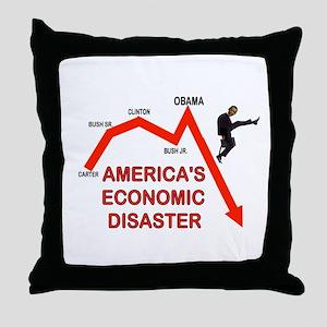 RUINING AMERICA Throw Pillow
