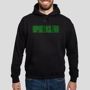Support Local Food Hoodie (dark)