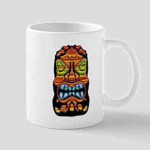Blue Teeth Tiki Mug