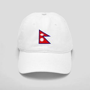 Nepalese Flag Cap