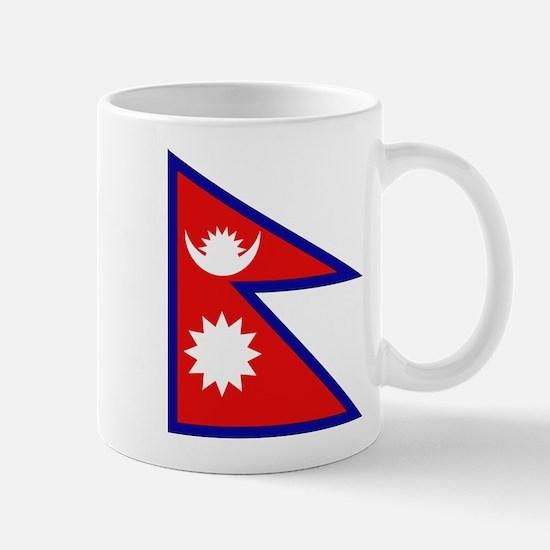 Nepalese Flag Mug