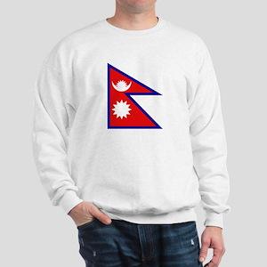Nepalese Flag Sweatshirt