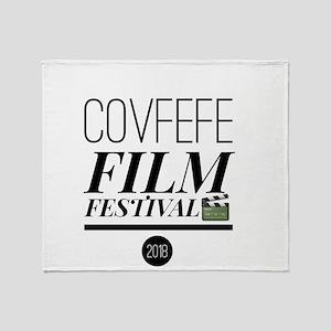 Covfefe Film Festival Throw Blanket