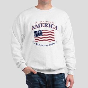 American flag patriotic Sweatshirt