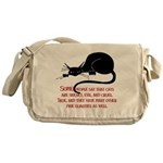 Sneaky Cats Messenger Bag