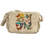 Beautiful Butterflies Messenger Bag