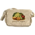 grow your veggies Messenger Bag