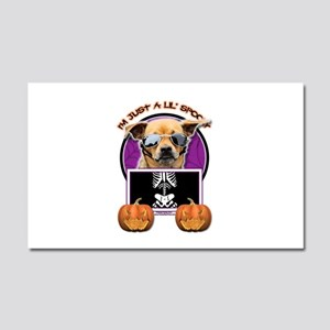 Just a Lil Spooky Chihuahua Car Magnet 20 x 12