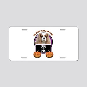 Just a Lil Spooky Cavalier Aluminum License Plate