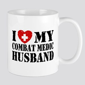 I Love My Combat Medic Husband Mug