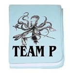 Team P Octopus 2009 baby blanket