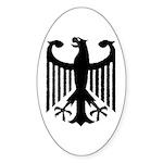 Bundesadler Oval Sticker