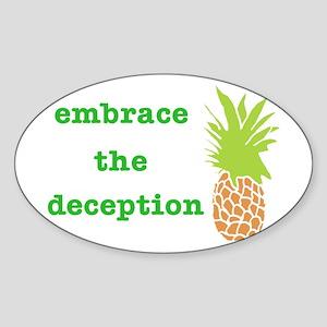embracethedeceptioncafepress Sticker