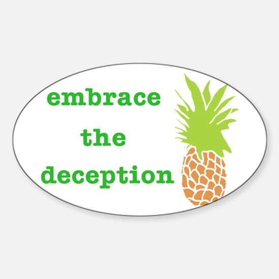 embracethedeceptioncafepress Decal