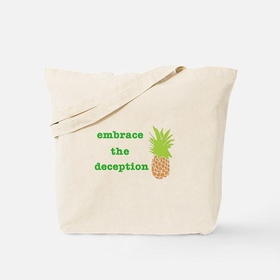Funny Pineapple Tote Bag